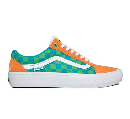 b1840ad4731633 Vans Old Skool Pro  Golf Wang  (Orange Blue Green) - Consortium.
