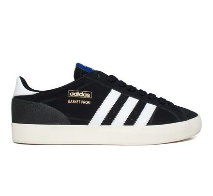 chaussures de sport 21838 56fe9 Adidas Originals Basket Profi Lo (Black1/Running White/Ecru ...