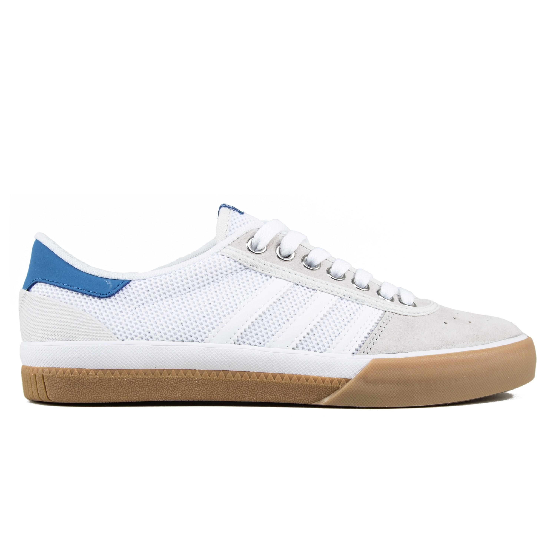 0ed80e0a8c2f adidas Skateboarding Lucas Premiere (Footwear White Trace Royal Gum ...