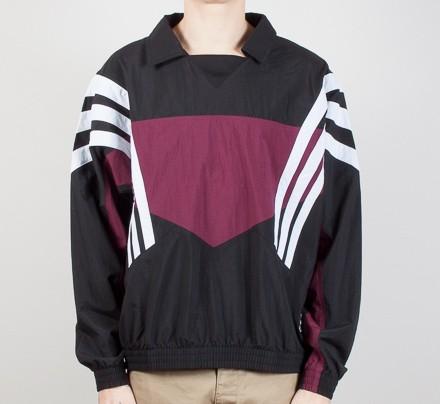 ed38a9b21 Adidas x Palace Warm Up Shower Sweatshirt (Black) - Consortium.