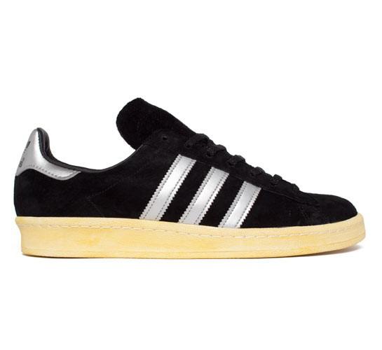 catch 3a0d6 cd42d Adidas Campus 80s Mita (Black 1Metallic SilverLegacy) - Cons