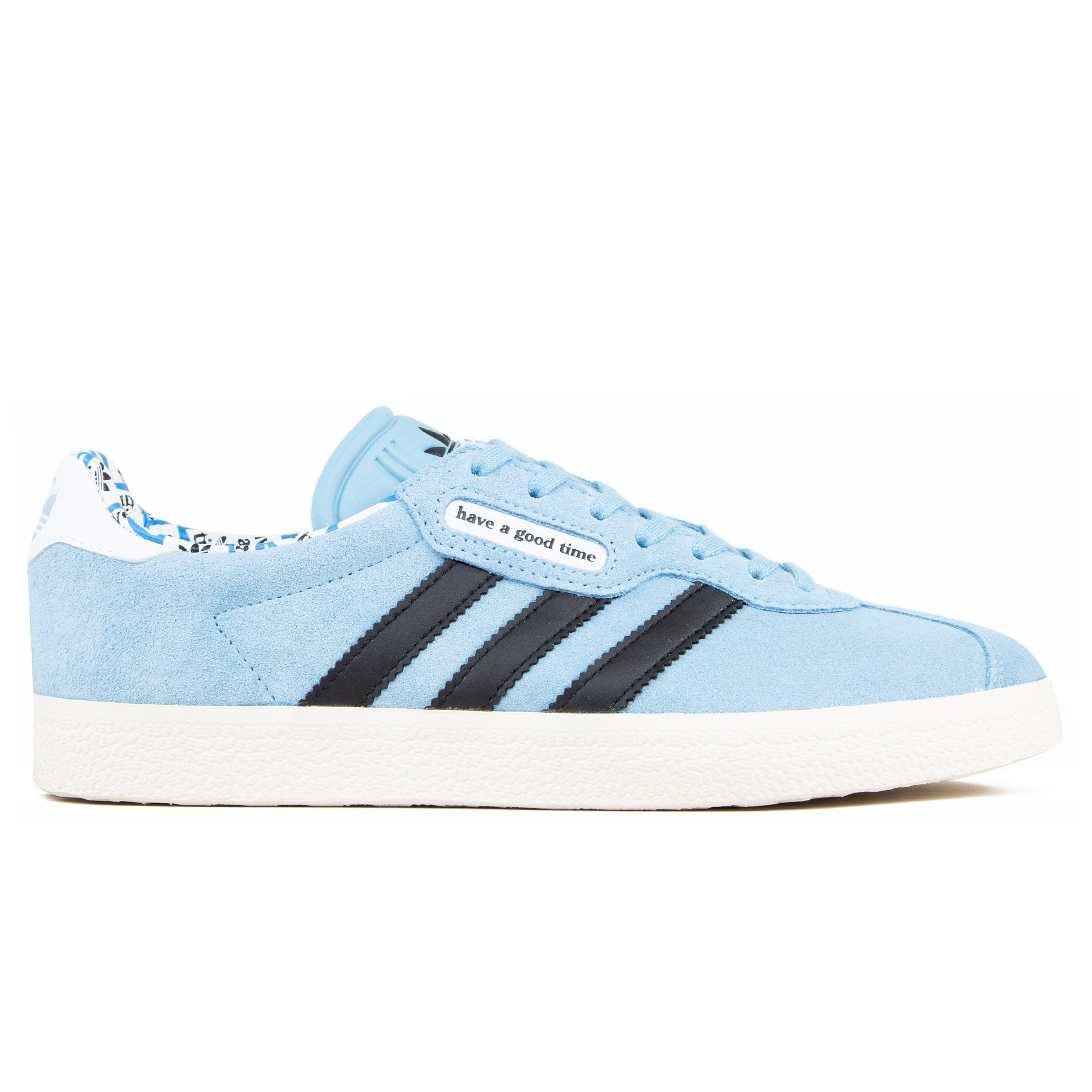 a4a2bf980ee adidas Originals x have a good time Gazelle Super (Clear Blue Core ...