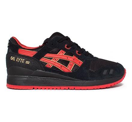 hot sale online 00d15 c4de8 Asics Gel Lyte III Valentine's Day Pack (Black/Black ...