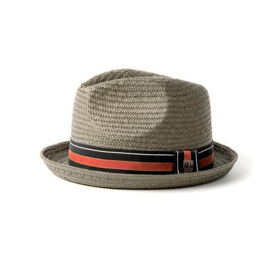 ad4d085d7bfea Brixton Castor Hat (Grey Straw) - buy Brixton hats at Consortium.