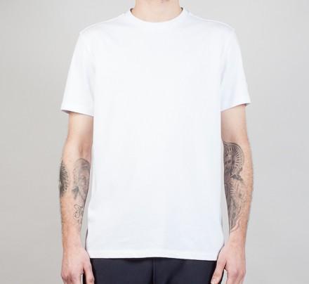 846e906e Champion Reverse Weave Basic Crew T-Shirt (White) - Consortium