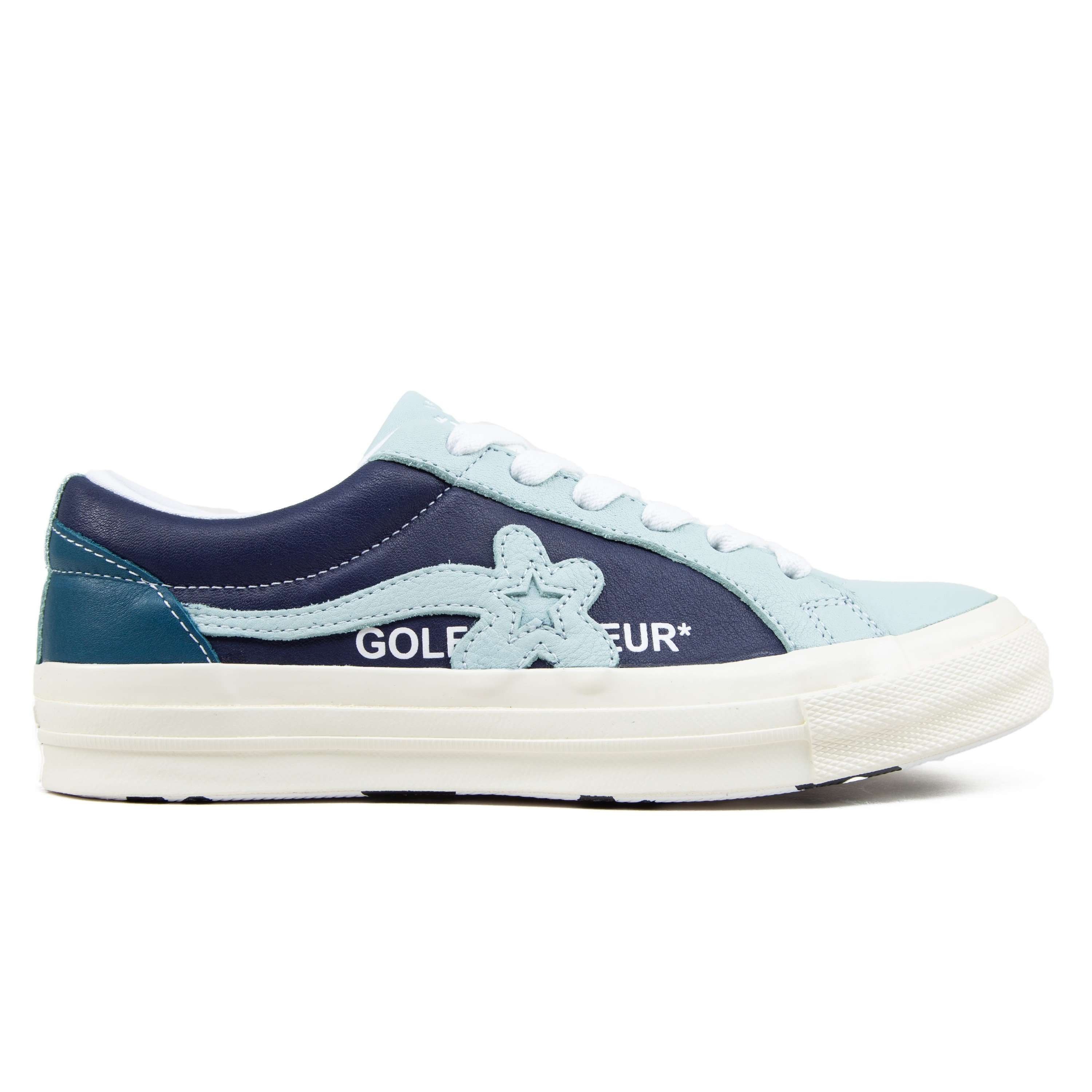 1e287bafd0c2 Converse x Golf Le Fleur One Star OX  Industrial Pack  (Barely Blue ...