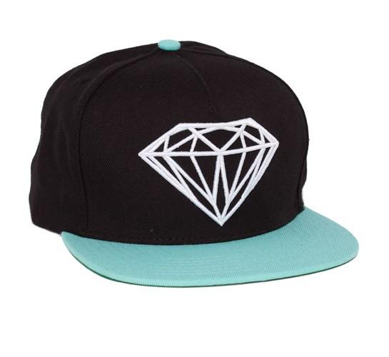 Fordham Snapback Beanie Diamond Supply Co Black