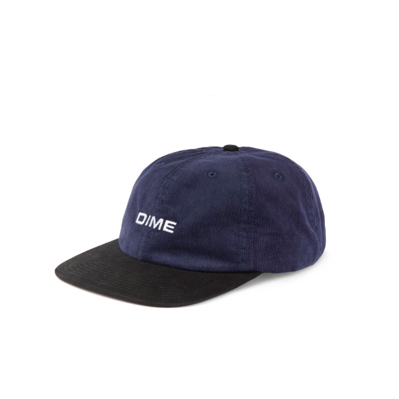 Dime Important Corduroy Cap (Navy) - DIMEH1829NVY - Consortium. dbb427e2cd70