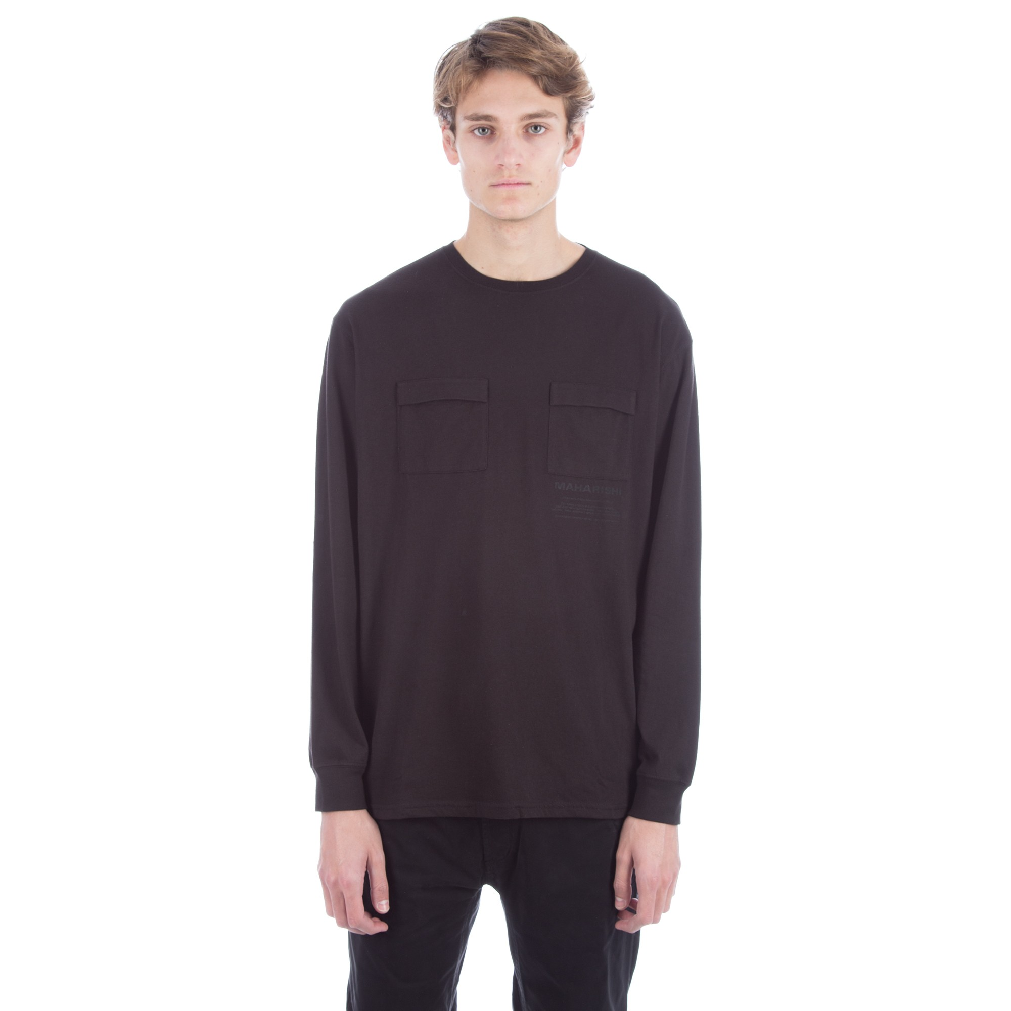Black t shirt long sleeve - For Full Information On Delivery And Customs Click Here