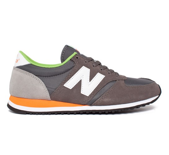 new balance 420 grey orange blue