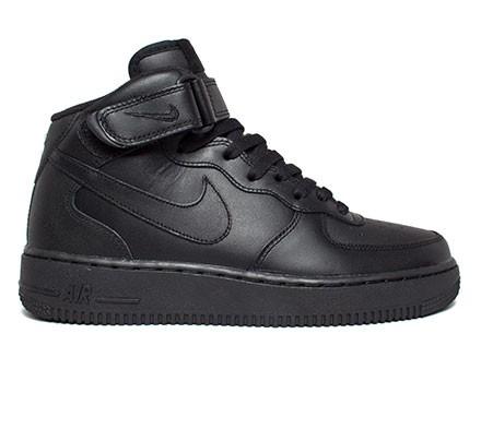 73a21cf6a59d4 Nike Air Force 1 Mid  07 (Black Black-Black) - Consortium
