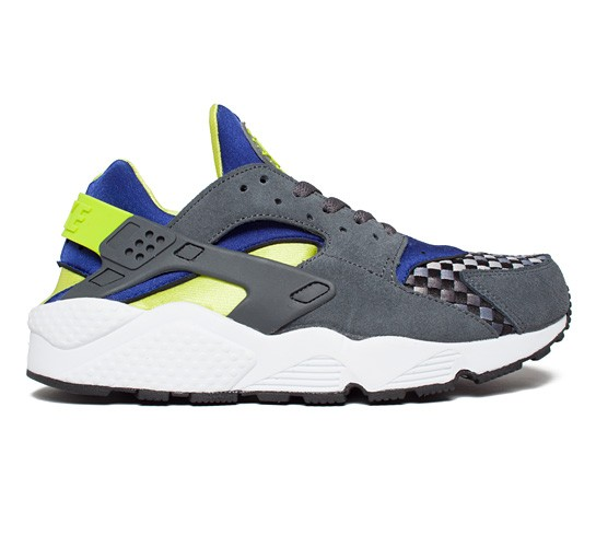 save off 57de4 80a91 Nike Air Huarache (Dark Grey Venom Green) - Consortium