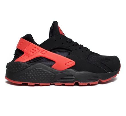 timeless design ae687 9c949 Nike Air Huarache 'Love/Hate Pack' QS (Black/University Red) - Consortium