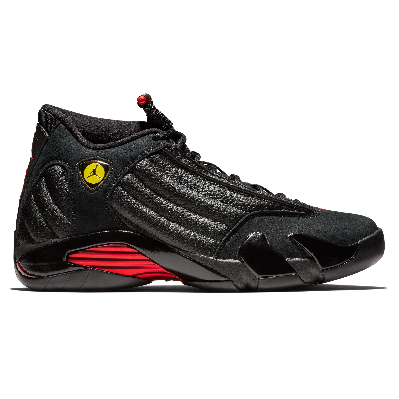 80a81b89b24e3d Nike Air Jordan 14 Retro  Last Shot  (Black Varsity Red-Black ...