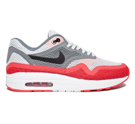 Nike Air Max 1 Breeze (Pure PlatinumBlack Cool Grey
