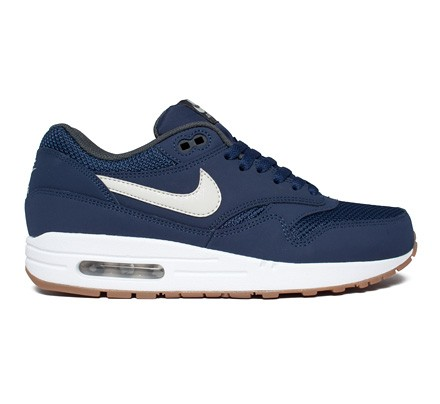 the best attitude e5c9e 673c0 Nike Air Max 1 Essential (Midnight NavyLight Bone-White) - C