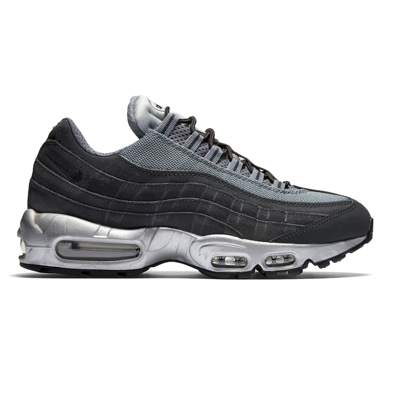 air max 95 grey black