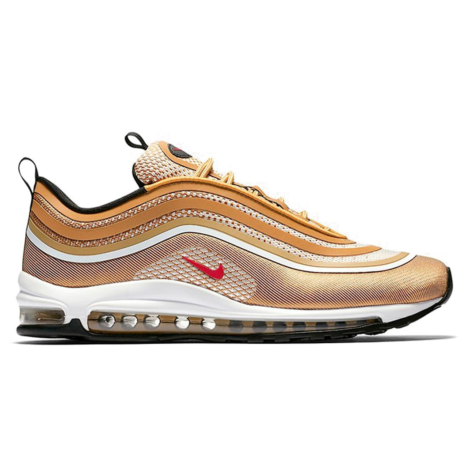 large discount official supplier new lower prices Nike Air Max 97 Ultra '17 'Metallic Gold' (Metallic Gold/Varsity  Red-Black-White)