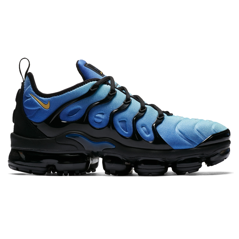 abd2f4afe4 Nike Air VaporMax Plus 'Hyper Blue'. (Black/Chamois-Hyper Blue-Sky ...