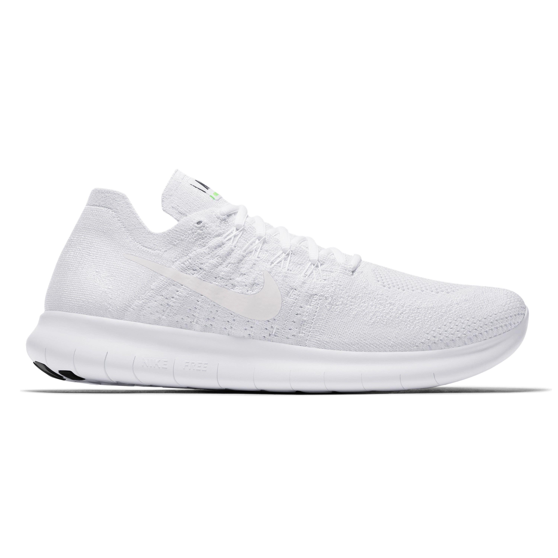 8942df8f451c Nike Free RN Flyknit 2017 (White White-Pure Platinum-Black ...