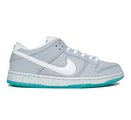 318eac91f5a4 ... hot nike sb dunk low premium marty mcfly qs wolf grey white light retro  consortium ed0d0