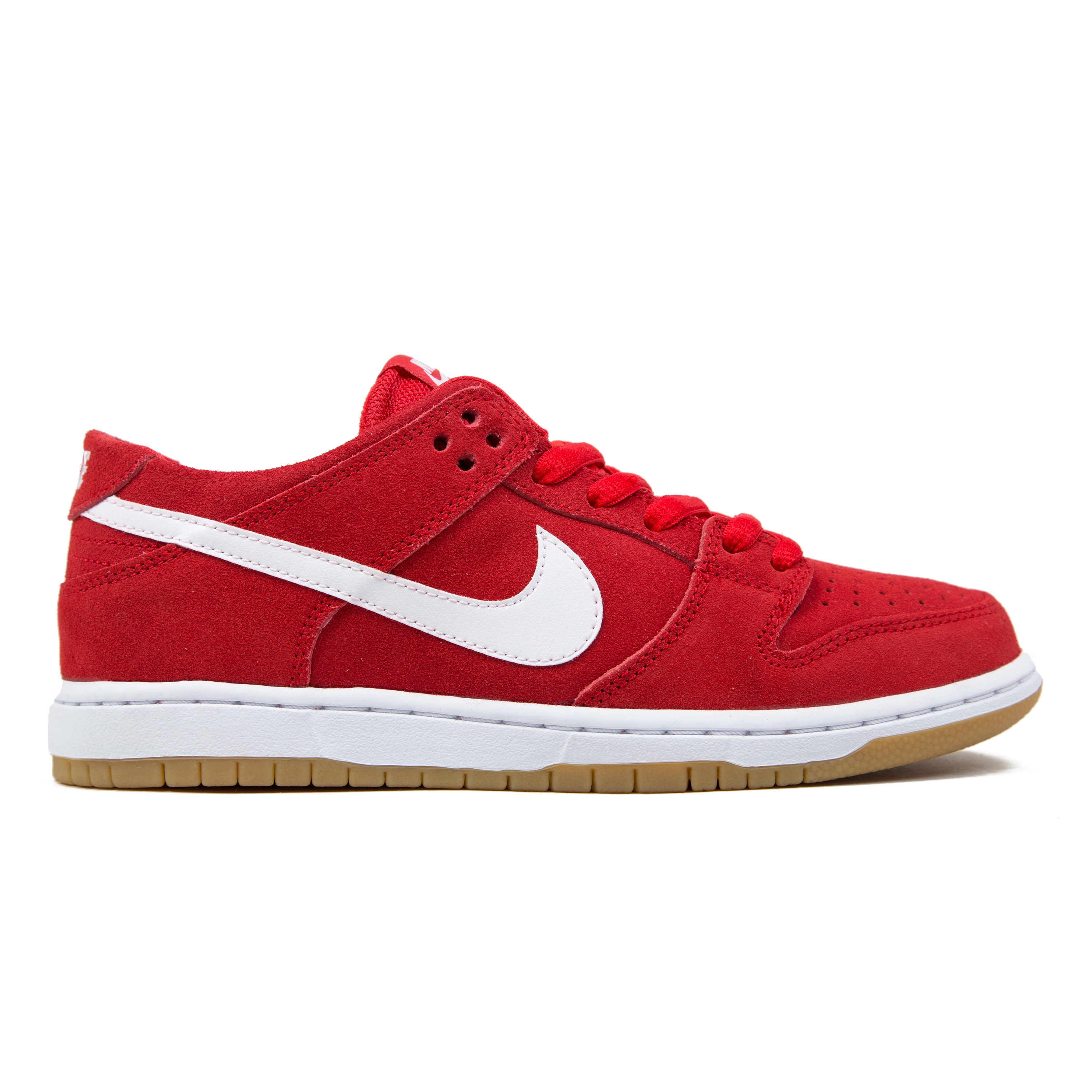 pretty nice 7fdaa c3e55 ... 304292-612 Nike Dunk Low Pro IW University Red on feet For full  information on delivery and customs click here The 2014 Valentines ...
