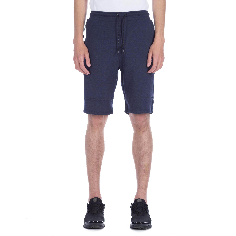 Nike Tech Fleece Shorts (Obsidian Heather Black) - Consortium. 58d9e9e603d7