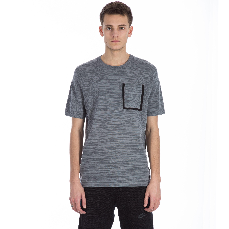 27b590b05 Nike Tech Knit Pocket T-shirt (Cool Grey/Dark Grey/Black) - Consortium.