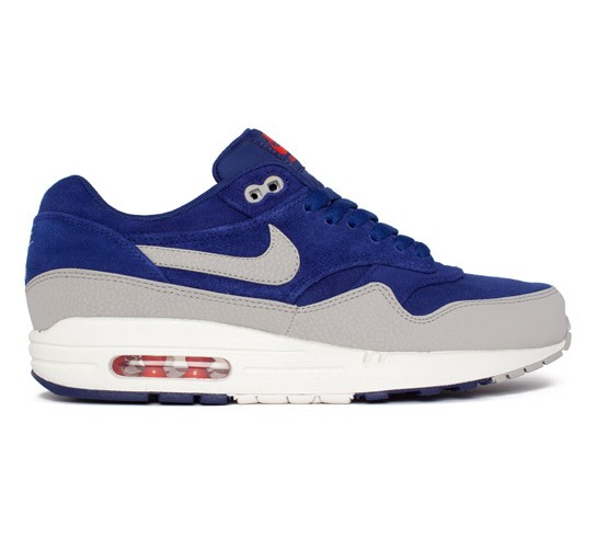Nike Air Max 1 Premium (Deep Royal BlueGranite Sail Team