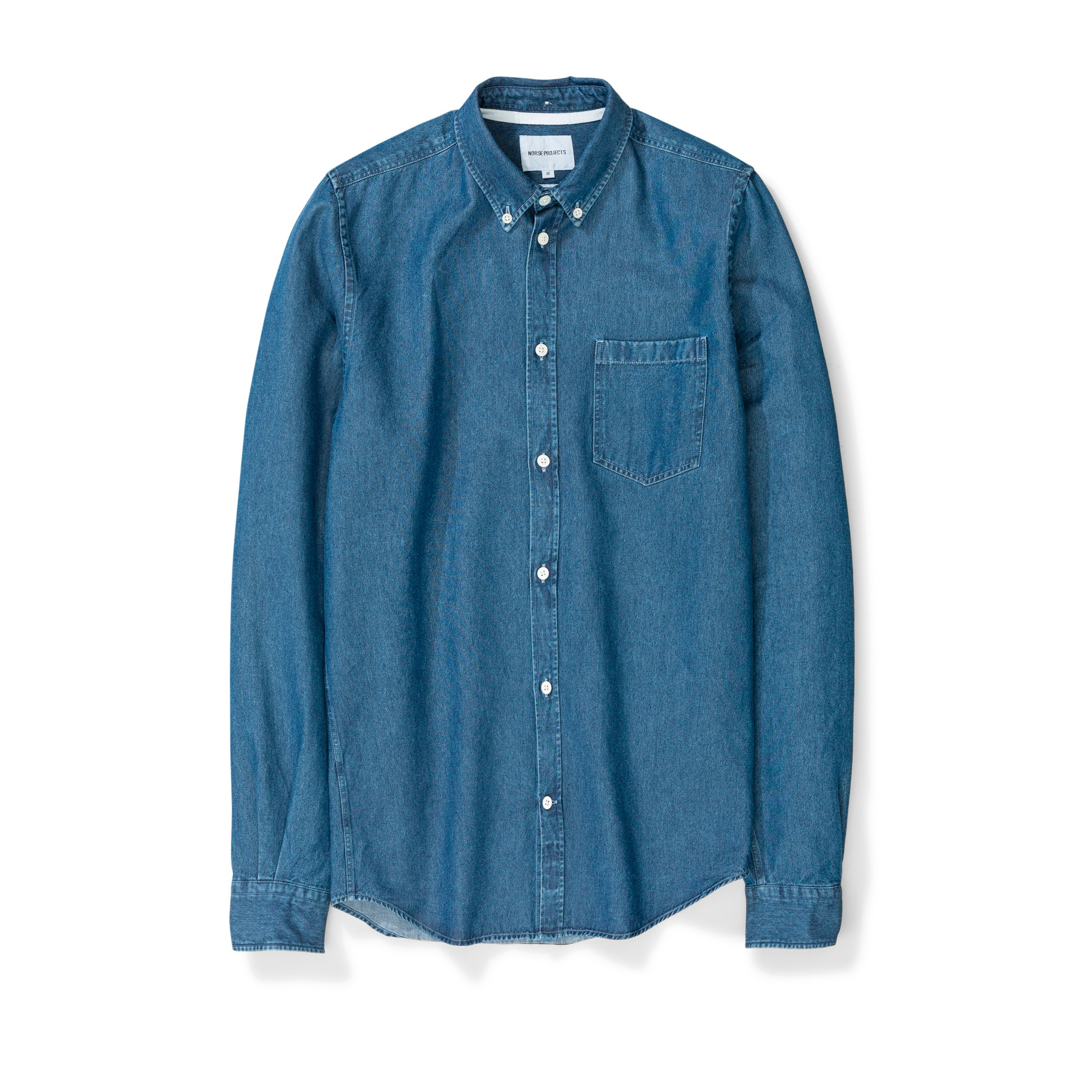 b73bf5a259a Norse Projects Anton Denim Shirt (Sunwashed) - N40-0459 7523 ...