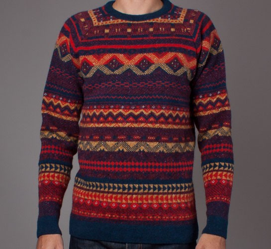 Norse Projects Birnir Fairisle Wool Knitted Sweater (Multicolour ...