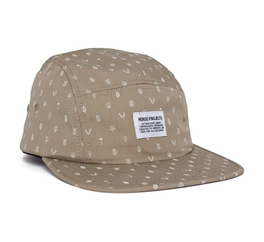 3ab6f80cec8 Norse Projects Flora 5 Panel Cap (Beige) - Consortium.