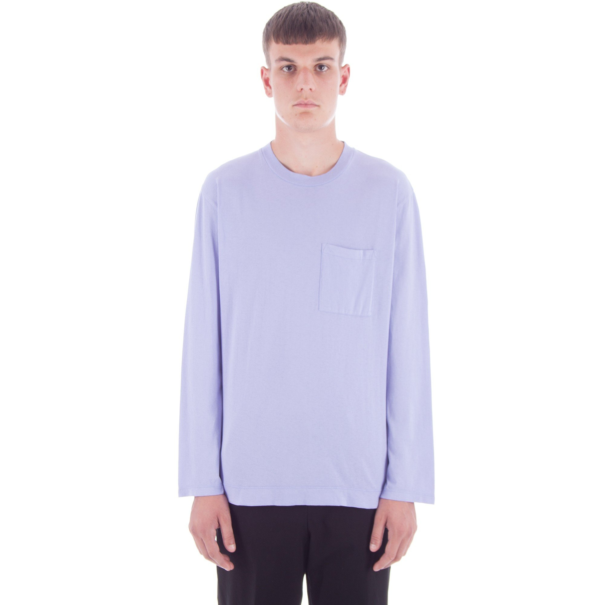 e123d79b91cb Our Legacy Box Long Sleeve T-Shirt (Orchid Army Jersey) - Consortium.