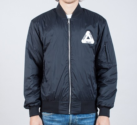 66be7cea1 alace Thinsulate Bomber Jacket (Anthracite) - Consortium.
