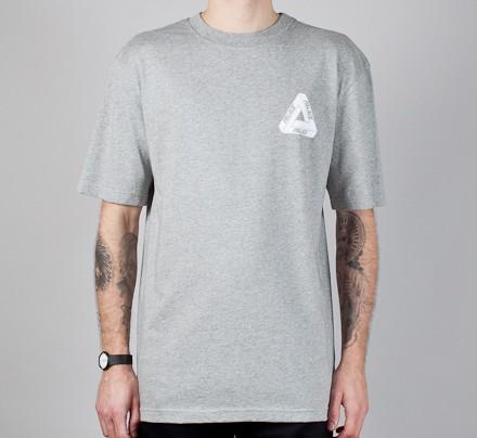 8a37a78788b4 Palace Tri-Line Brit T-Shirt (Heather Grey) - Consortium.