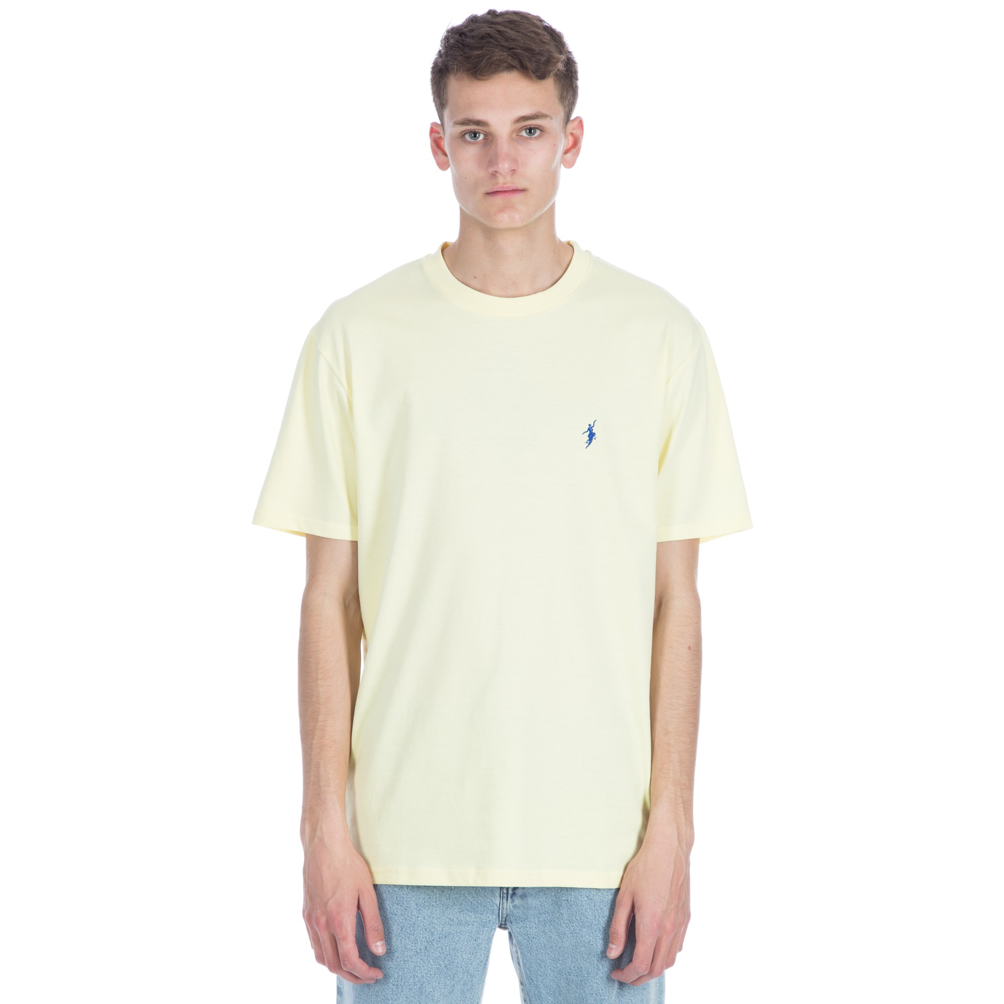 Polar No Comply T Shirt Pastel Yellow Consortium