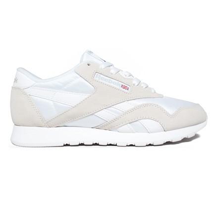Reebok Classic Nylon (White Light Grey) 636e221ec