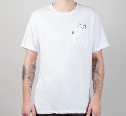 48f1818849 RIPNDIP Lord Nermal Pocket T-Shirt (White) - Consortium.