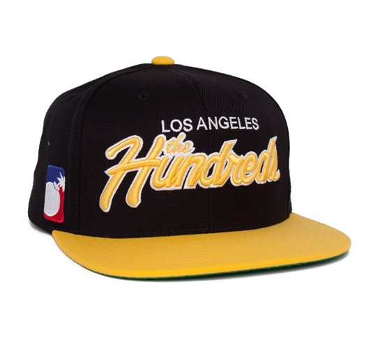 dc8728c3a7589 The Hundreds Team Two Snapback Cap (Black) - Consortium.