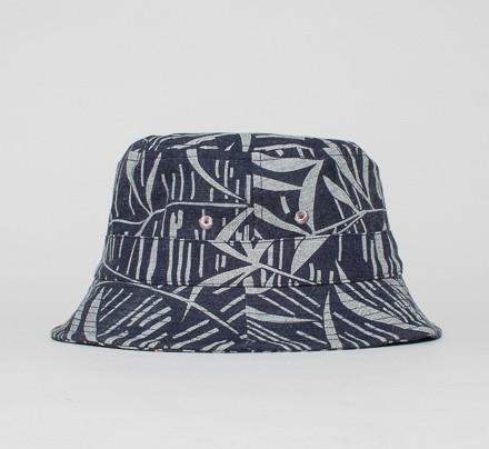 Universal Works Palmer Marl Twill Bucket Hat (Navy) - Consortium. 4ee92c28ccc