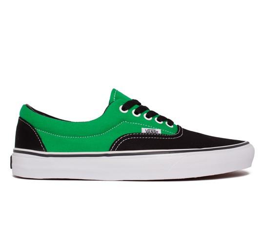 b6040043fa18ee Vans Era 2 Tone (Black Bright Green) - Consortium.