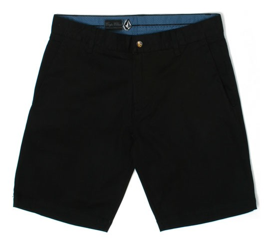 Volcom | Volcom Frickin Slim Chino Shorts (Black) - buy Volcom ...