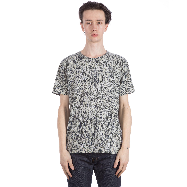 YMC Batik Check T Shirt