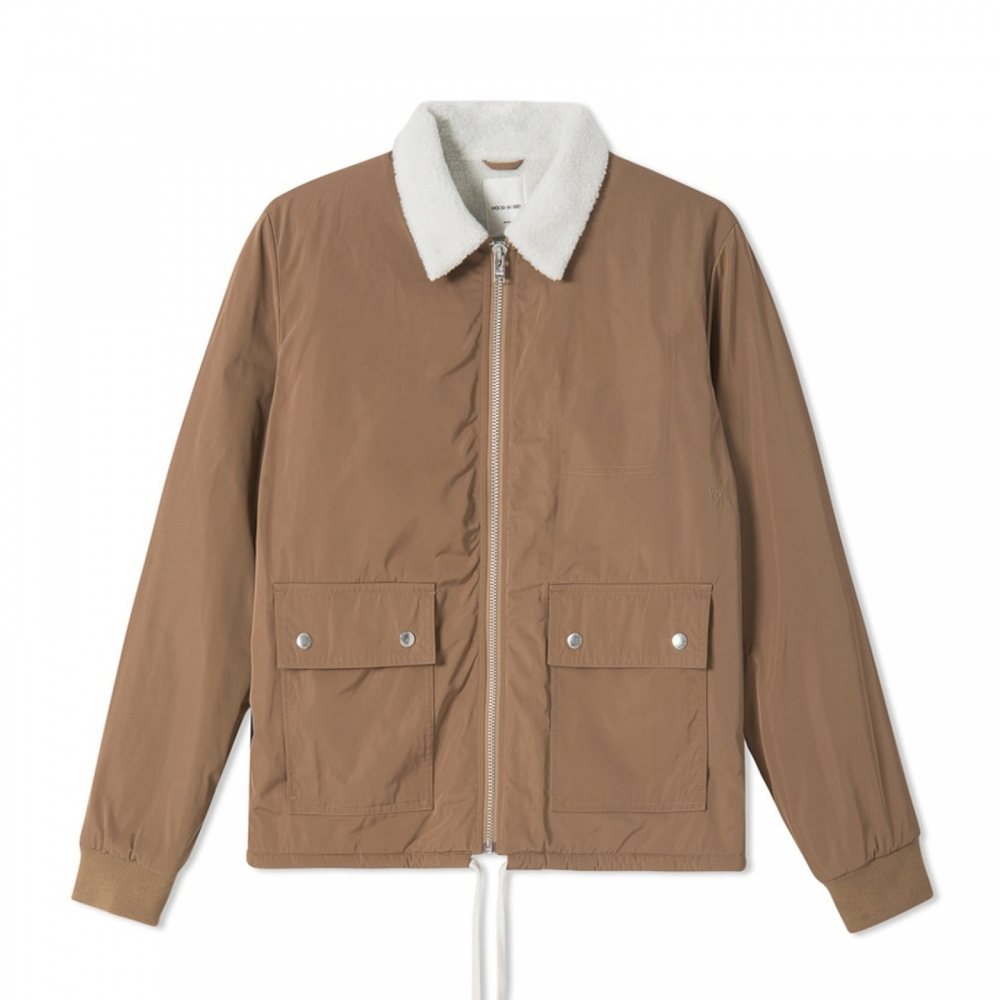 Wood Wood Clark Jacket (Khaki)
