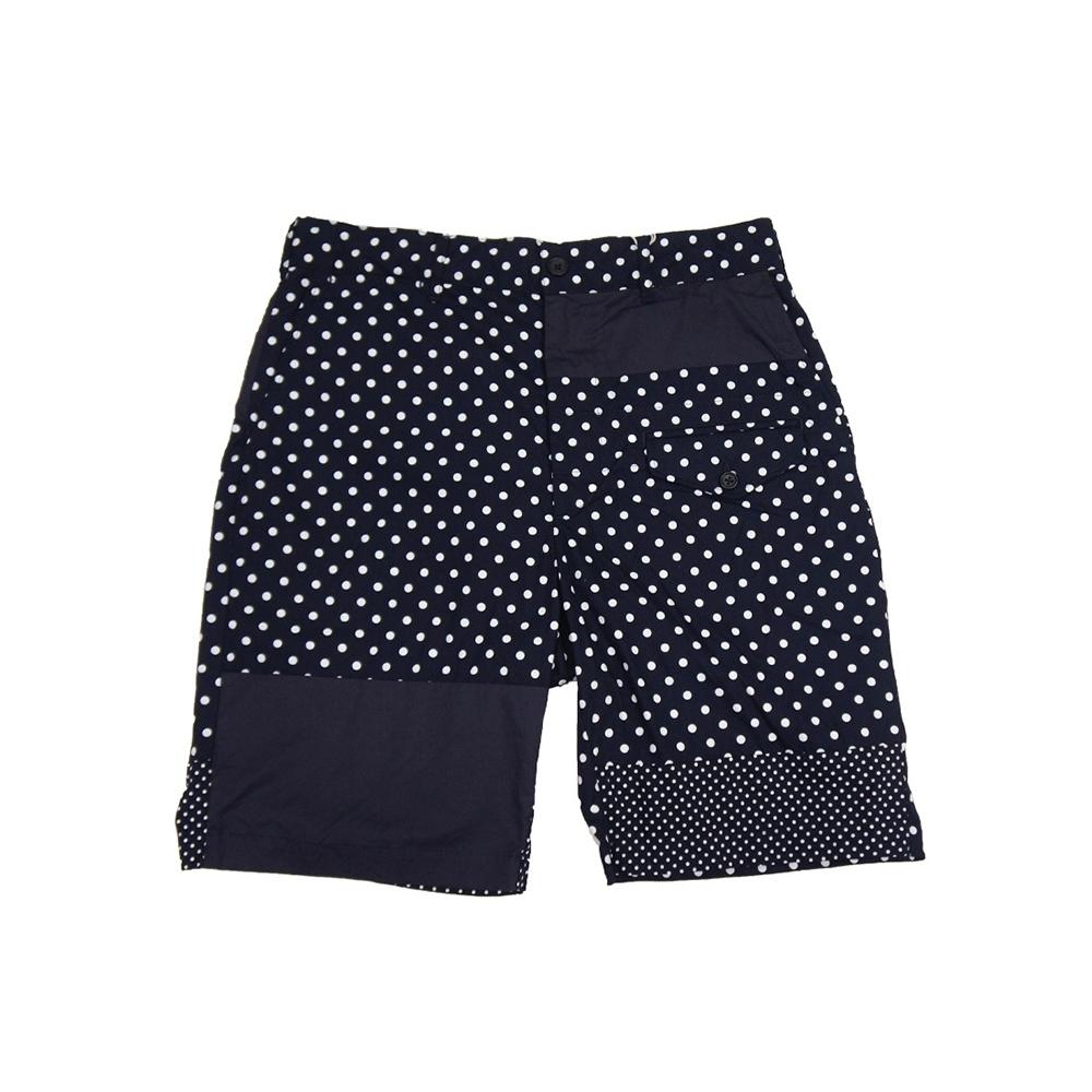 Engineered Garments Ghurka Short (Dark Navy Big Polka Dot Broadcloth)