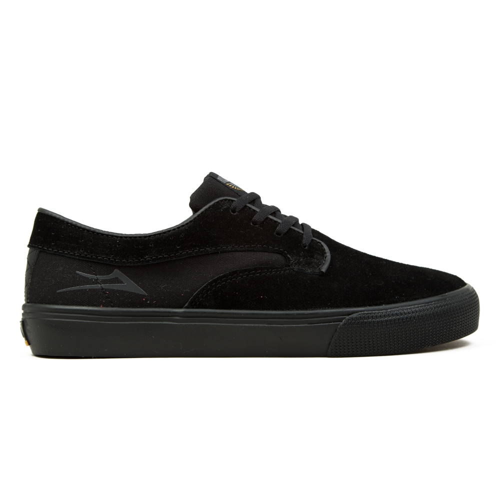 Lakai Riley Hawk (Black/Black Suede)