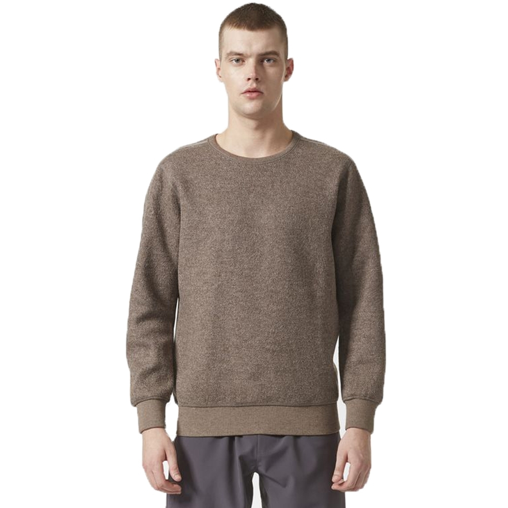 adidas Originals by wings+horns Wool Crew Neck Sweatshirt (Simple Brown)
