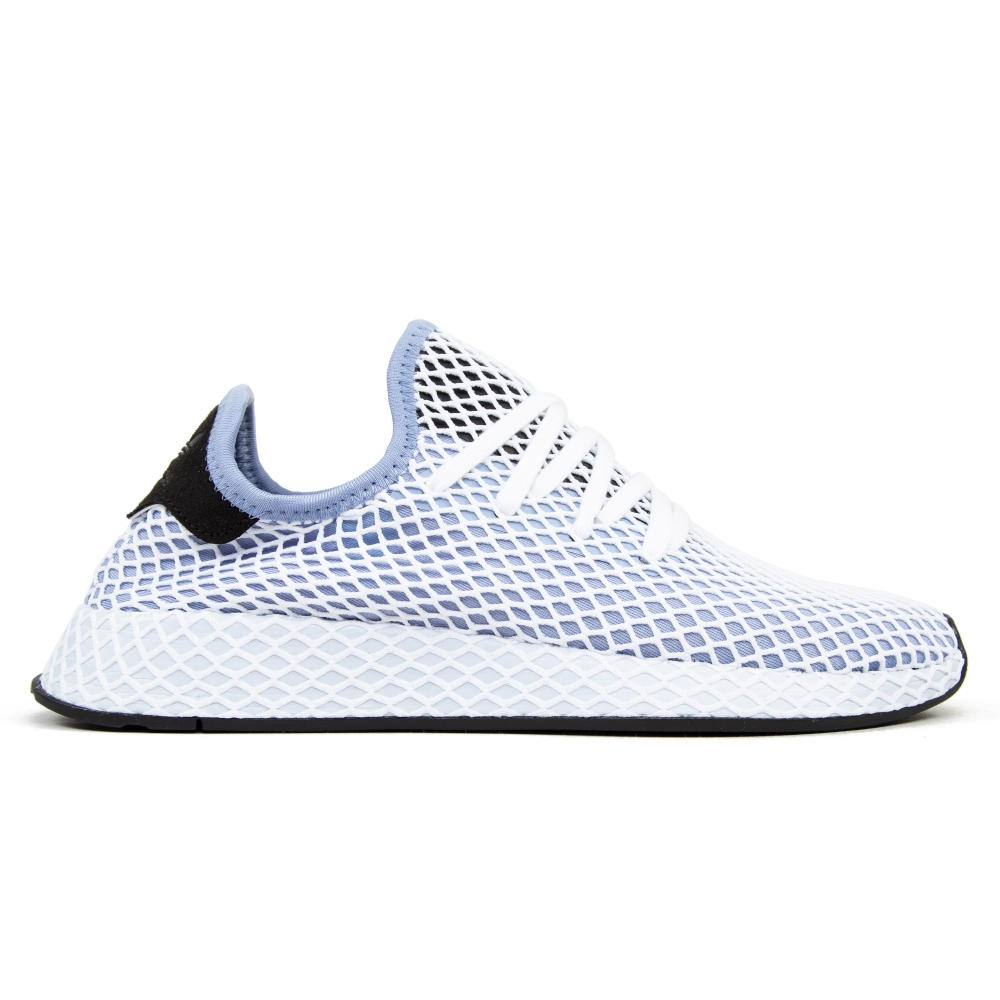 adidas Originals Deerupt Runner W (Chalk Blue/Chalk Blue/Core Black)