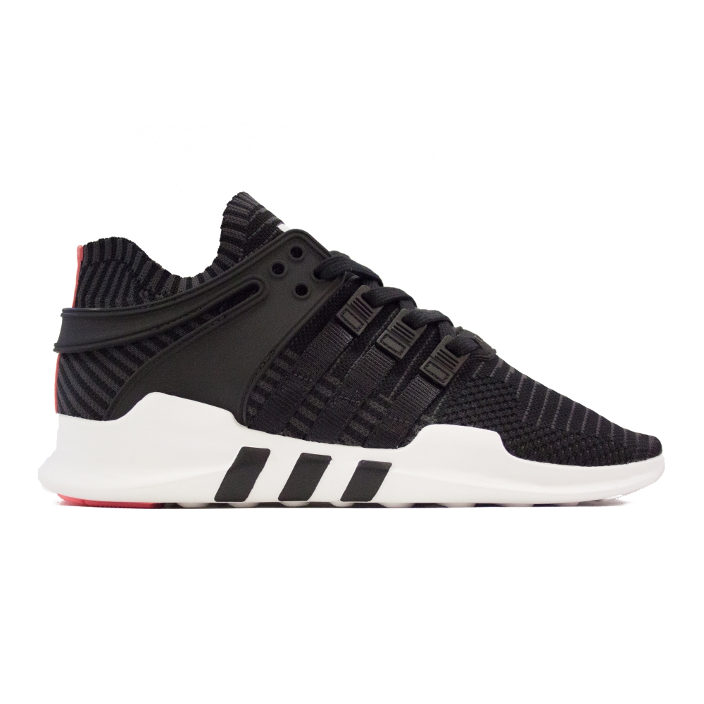 adidas Originals Equipment Support ADV Primeknit (Core Black/Core Black/Turbo Red)