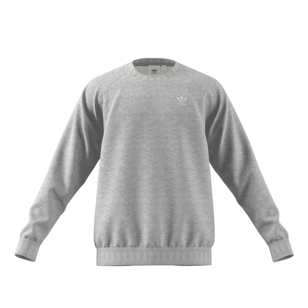 adidas Originals Essential Crew Neck Sweatshirt (Medium Grey Heather)